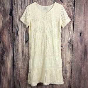 Sundance Cream Eyelet River Dress